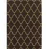 Mayberry Rug Lifestyles Deco Plaza Chocolate Area Rug