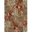 Mayberry Rug Timeless Flowers Squared Area Rug