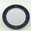 """Galleyware Company Decorated 10"""" Melamine Compass Non-skid Dinner Plate (Set of 4)"""
