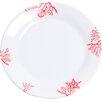 "Galleyware Company Decorated 8"" Melamine Non-skid Salad/Dessert Plate (Set of 6)"
