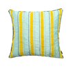 A1 Home Collections LLC Exotic Profusion Stripe Decorative Cotton Throw Pillow