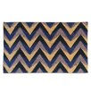 A1 Home Collections LLC Chevron Coir Doormat