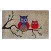 A1 Home Collections LLC Owl Doormat