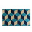 A1 Home Collections LLC Blocks Doormat