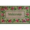 A1 Home Collections LLC Summer Flower Welcome Doormat