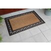 A1 Home Collections LLC Classic Paisley Border Double Doormat