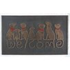 A1 Home Collections LLC Dog Tail Welcome Doormat
