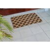 A1 Home Collections LLC Ogee Floral Doormat