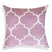 A1 Home Collections LLC Thistle Printed Ogee Ikat Cotton Throw Pillow