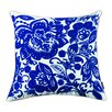 A1 Home Collections LLC Jacobean Embroidered Cotton Throw Pillow