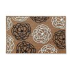 A1 Home Collections LLC First Impression Magnolia Wildflower Entry Doormat
