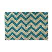 A1 Home Collections LLC Callie Chevron Doormat