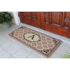 A1 Home Collections LLC First Impression Gayle Ogee Doormat