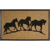 A1 Home Collections LLC First Impression Horse Doormat