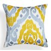 A1 Home Collections LLC Ikat Ruby Cotton Throw Pillow