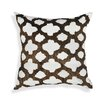 A1 Home Collections LLC Ogee Geometric Throw Pillow