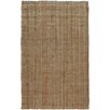 A1 Home Collections LLC Hand-Woven Natural Area Rug