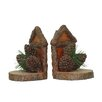 Judith Edwards Designs Pine Cone Book Ends