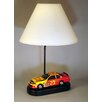 "Judith Edwards Designs Race Car 20"" H Table Lamp with Empire Shade"