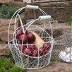 Ascalon Floral Chic 2 Piece Mesh Basket Set