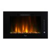 Caesar Fireplace Luxury Linear Wall Mount Electric Fireplace