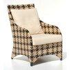 Indo Puri Nala Houndstooth Lounge Chair
