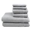 Home Fashion Design Diamante 6 Piece Towel Set