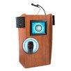 Oklahoma Sound Vision Floor Lectern