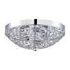 Kendal Lighting Solaro 3 Light Flush Mount