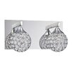 Kendal Lighting Crys 2 Light Bath Vanity Light