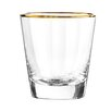Qualia Glass Dominion Double Old Fashioned Glass (Set of 4)