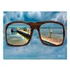 Ready2hangart 'Glasses' by Bruce Bain Photographic Print on Wrapped Canvas