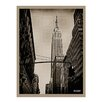 Ready2hangart 'Empire State Building 2' by Bruce Bain Photographic Print on Wrapped Canvas