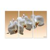 Ready2hangart 'White Orchid' by Bruce Bain 3 Piece Photographic Print on Canvas Set