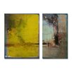 Ready2hangart 'Bueno Exchange LXV' by Alexis Bueno 2 Piece Graphic Art on Wrapped Canvas Set