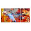 Ready2hangart Abstract 3 Piece Painting Print on Canvas Set
