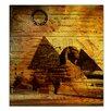 Ready2hangart Egyptian Pyramid'Graphic Art on Canvas