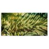 Ready2hangart 'Greens' by Alexis Bueno Oversized Wrapped Canvas Wall Art
