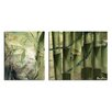 Ready2hangart Bamboo Abstract' 2 Piece Graphic Art on Canvas Set