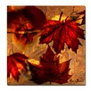 Ready2hangart 'Fall Flowers' by Alexis Bueno Oversized Wrapped Canvas Wall Art