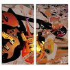 Ready2hangart 'The Color of Jazz XX' by Alexis Bueno 2 Piece Oversized Painting Print on Wrapped Canvas Set