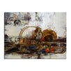 Ready2hangart 'Muzik XIX' by Alexis Bueno Oversized Painting Print on Wrapped Canvas