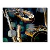 Ready2hangart The Color of Jazz VI' Graphic Art on Canvas