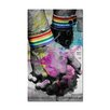 Ready2hangart 'Hold Hands' by Alexis Bueno Graphic Art on Wrapped Canvas