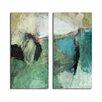Ready2hangart 'Smash V' by Art Alexis Bueno 2 Piece Wrapped Canvas Wall Art Set