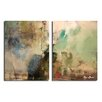 Ready2hangart 'Smash XVIIII' by Art Alexis Bueno 2 Piece Wrapped Canvas Wall Art Set
