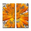 Ready2hangart Painted Petals LXXVIII 2 Piece Graphic Art on Canvas Set