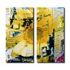 Ready2hangart Painted Petals XCVI 2 Piece Graphic Art on Canvas Set