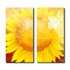 Ready2hangart Painted Petals XCVIII 2 Piece Graphic Art on Canvas Set