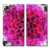 Ready2hangart Painted Petals XCIII 2 Piece Graphic Art on Canvas Set